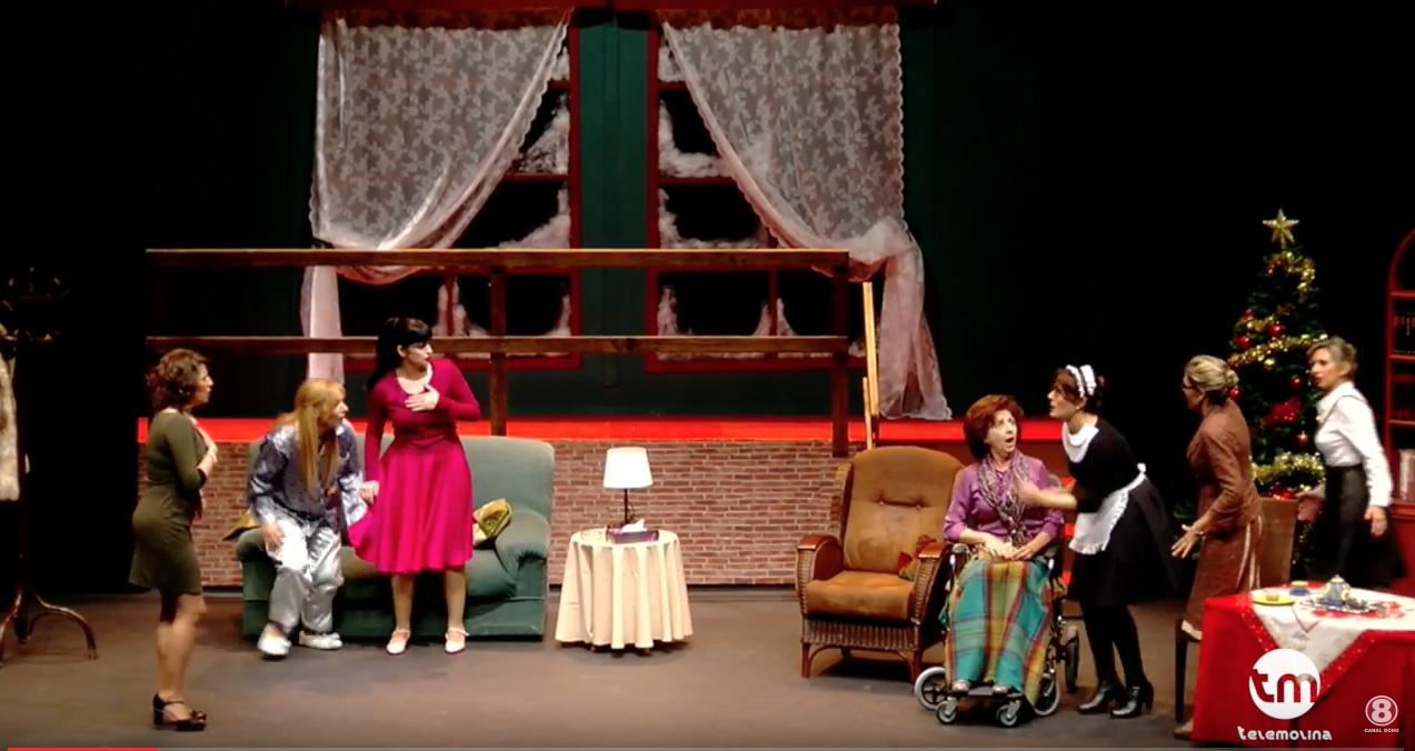 8 mujeres teatro villa de molina